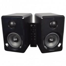 Active Bluetooth Bookshelf Speakers Black