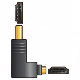 Adaptor HDMI RA Plug - HDMI Socket