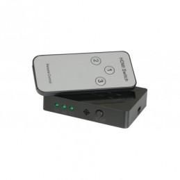 Mini HDMI Switch 3x1 w/IR