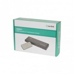 HDMI Switcher 5x1 with IR