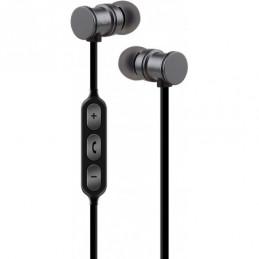 Magnetic Bluetooth Earphones Grey