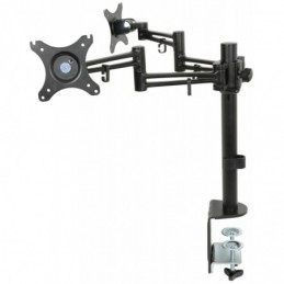 Dual Monitor Desk Mount with Extension Arms