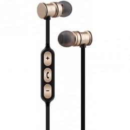 Magnetic Bluetooth Earphones Gold