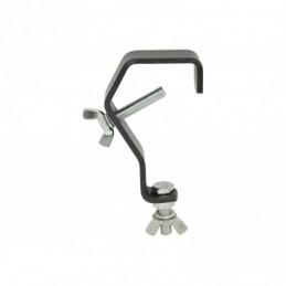 G shape mounting hook - black version