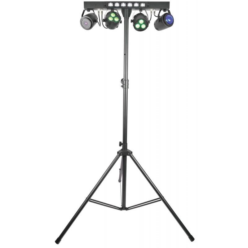 Stage Bar - PAR+ Fireball + Laser + UV/Strobe + Stand