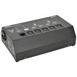 DMX-D4 - 4 Way DMX Booster/Distributor