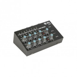 4 Stereo Channel Line Level & Instrument Mixer