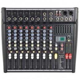 CSP-410 powered mixer 400W