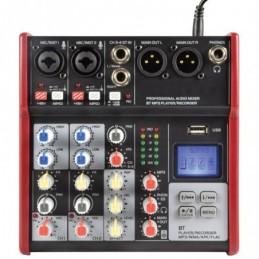 CSM-4 Mixer with USB / Bluetooth Player