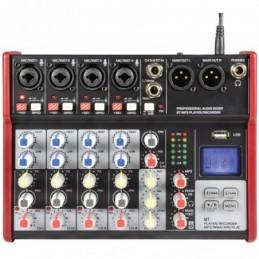 CSM-6 Mixer with USB / Bluetooth Player