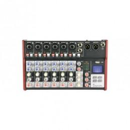 CSM-8 Mixer with USB / Bluetooth Player