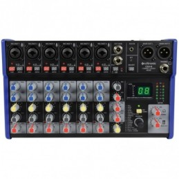 CSD-8 Compact Mixer with BT receiver + DSP Effects