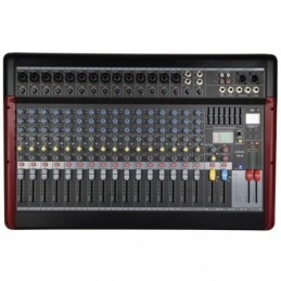 CSX-18 Live Mixer with USB/BT Player + DSP Effects