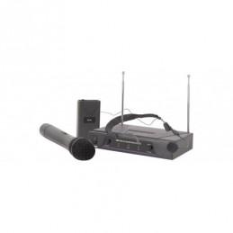 VHF handheld + neckband wireless system 174.1 + 175.0MHz