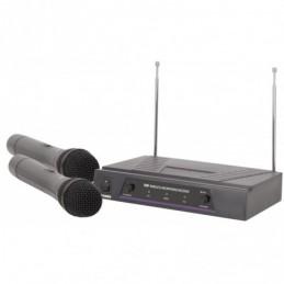 VHF dual handheld wireless system - 174.1 + 175.0MHz