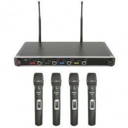 NU4-H Quad UHF System - Handheld