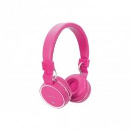 Wireless Bluetooth Headphones Pink