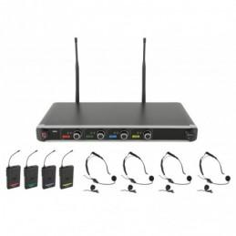 NU4-N Quad UHF System-Neck/Lapel
