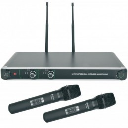 NU20 Dual UHF Handheld Microphone System