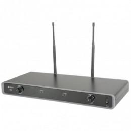 NU2 Neckband/Lapel UHF system 608.050MHz + 606.175MHz Ch.38