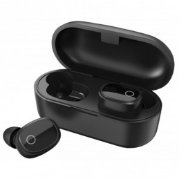 True Wireless Bluetooth Earphones & Charging Case Black