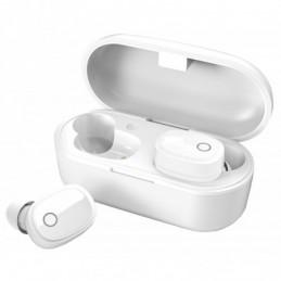 True Wireless Bluetooth Earphones & Charging Case White