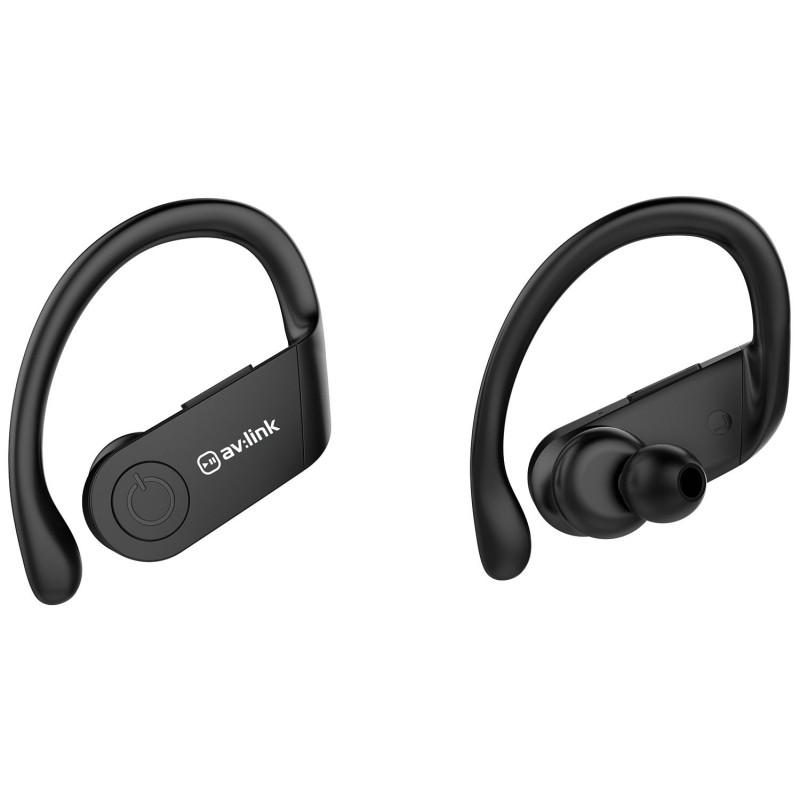 Splashproof True Wireless Sports Earphones & Charging Case