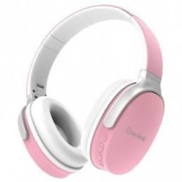 Over-Ear Wireless Bluetooth Headphones Pink