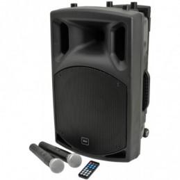 QX12PA portable PA unit with USB/SD/FM player & Bluetooth