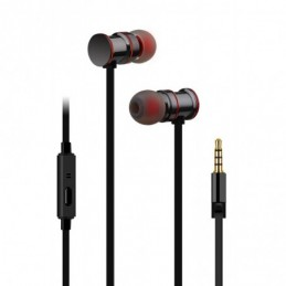 Magnetic Earphones w/HF Black