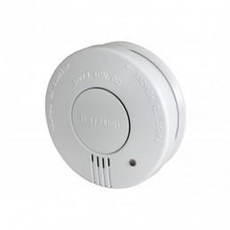 Smoke detector w/hush button