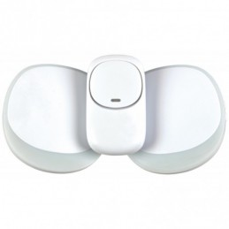 Twin Pack Wireless Plug-in Doorbell with LED Alert White