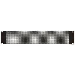 """2U Perforated Rack Panel 19"""""""