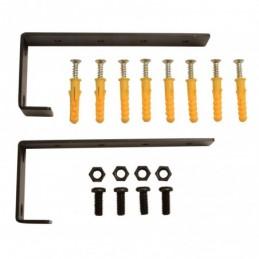 RACK-IT Wall / Counter Mounting Brackets 1U - pair