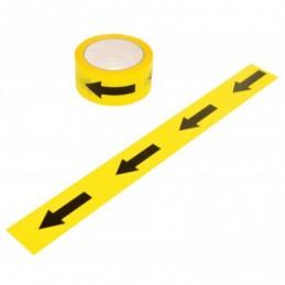 Black & Yellow Arrow Tape