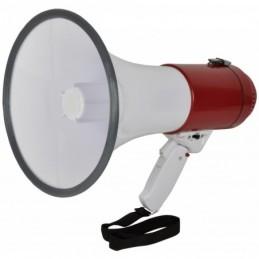 Megaphone 30W Built-in Microphone & Foldable Grip