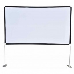 """Fast Fold Portable Projector Screen 100"""""""