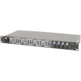 Z44R - live/zone mixer with DSP reverb - 1U rack