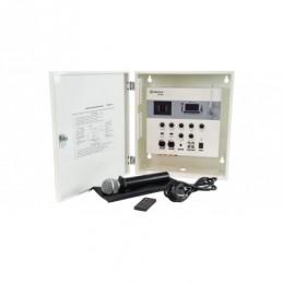 SA180 Secure Wall Mixer-Amp +UHF mic