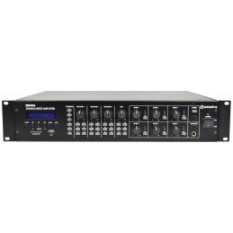RM406 Mixer-Amp 100V 6 x 40W + USB/SD/FM/BT
