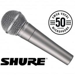 Shure sm58 50th anniversary...